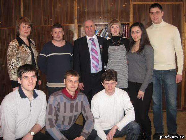 Состав молодежной комиссии 2011 г.