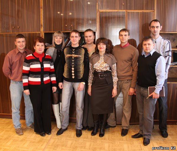 Состав молодежной комиссии 2010 г.